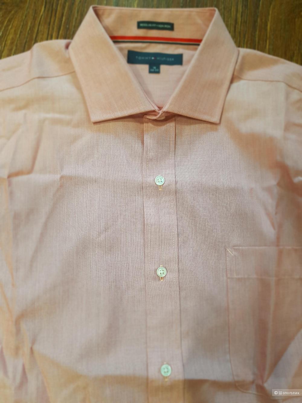 TOMMY HILFIGER мужская рубашка р.48-50 (L)