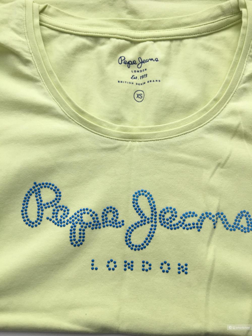Футболка Pepe jeans размер XS