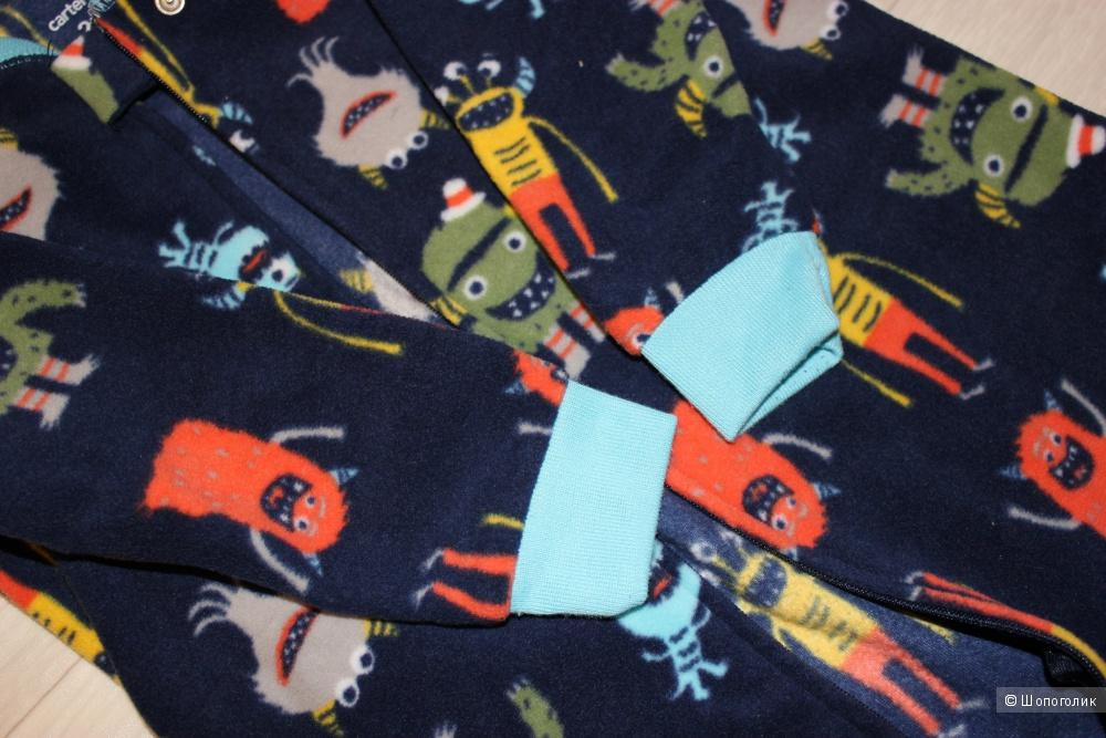 Флисовый комбинезон Carters, размер 2т (88 -93 см)
