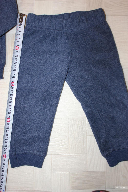 Флисовый набор Carters, размер 24 м (83 -86 см)