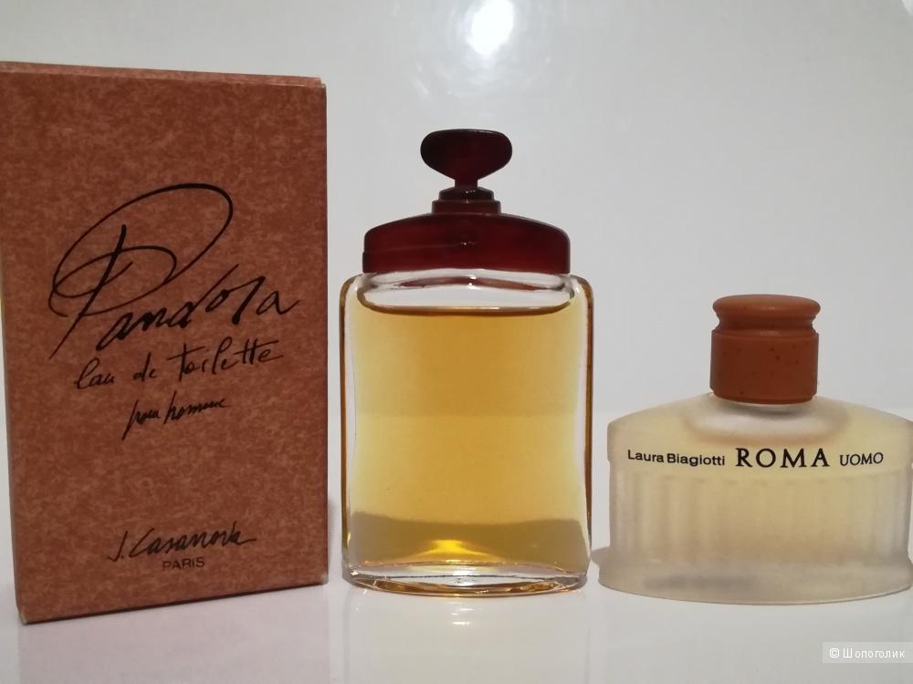 Сет 2 миниатюры - J. Casanova 7,5 мл - Roma Laura Biagiott  5 мл.