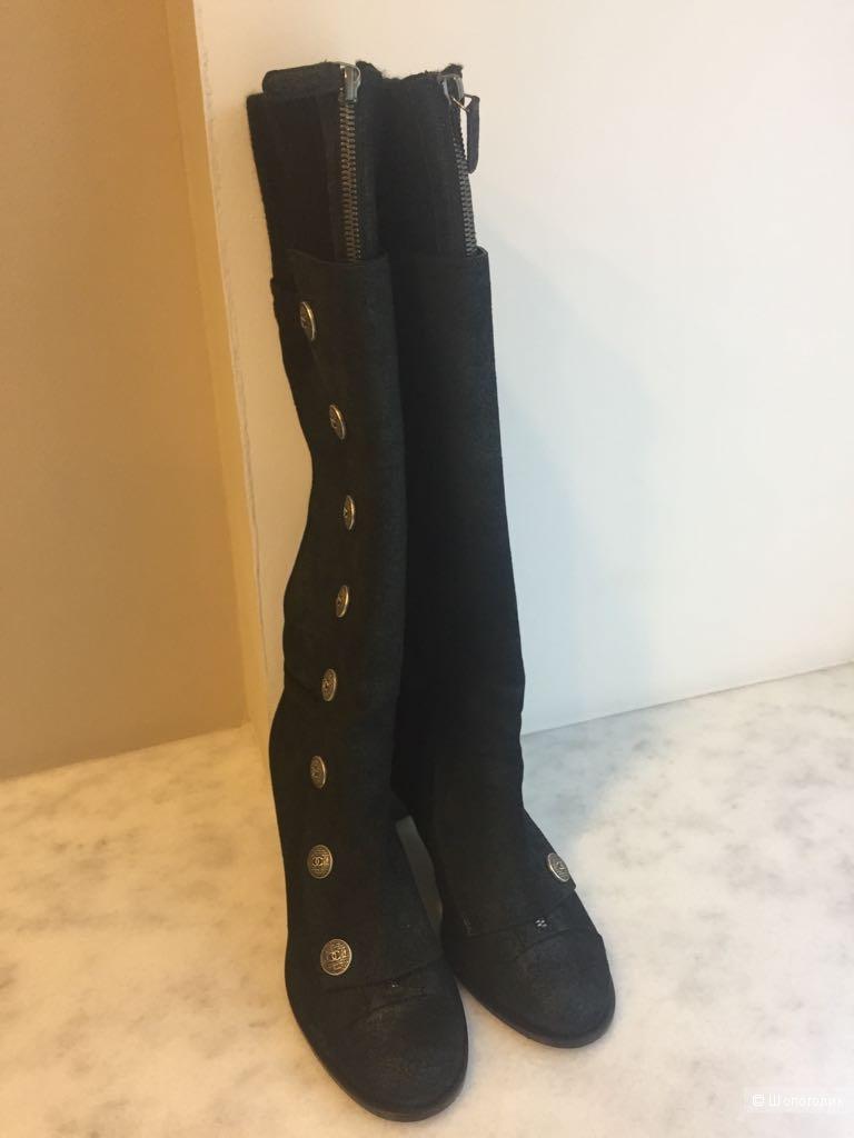 Сапоги женские , Chanel , 41 размер