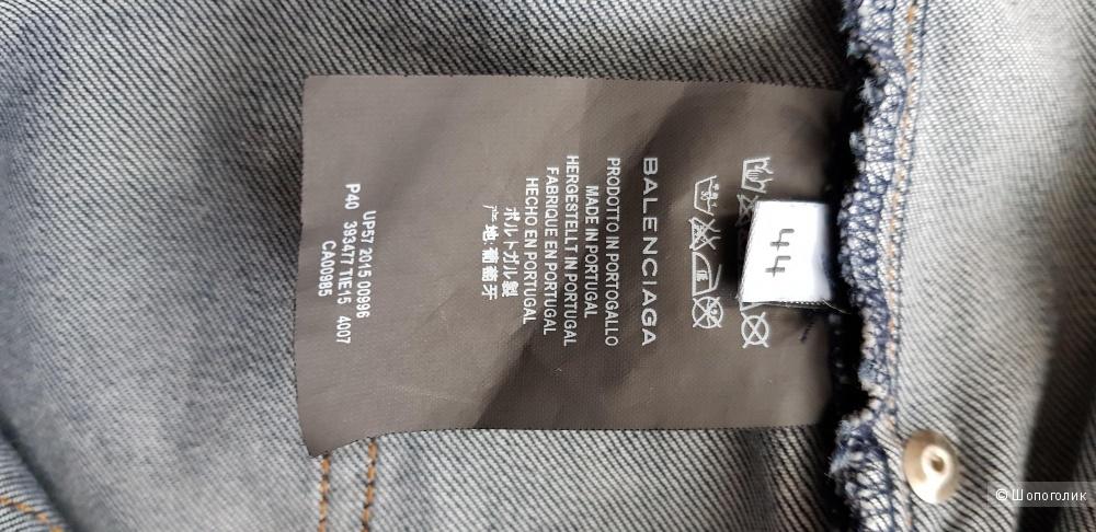 Джинсы Balenciaga 44 фр. размер( 50 р.)
