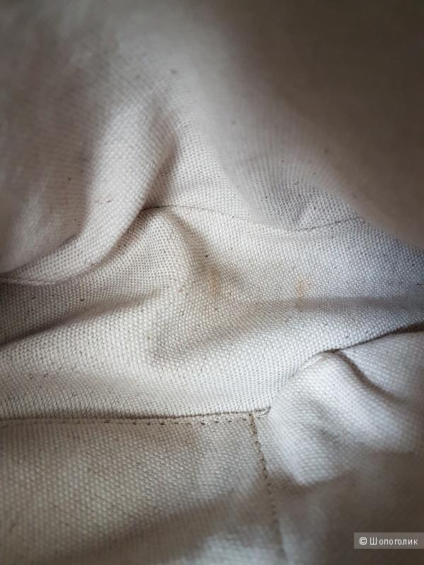 Сумка DKNY из текстиля и натуральной кожи