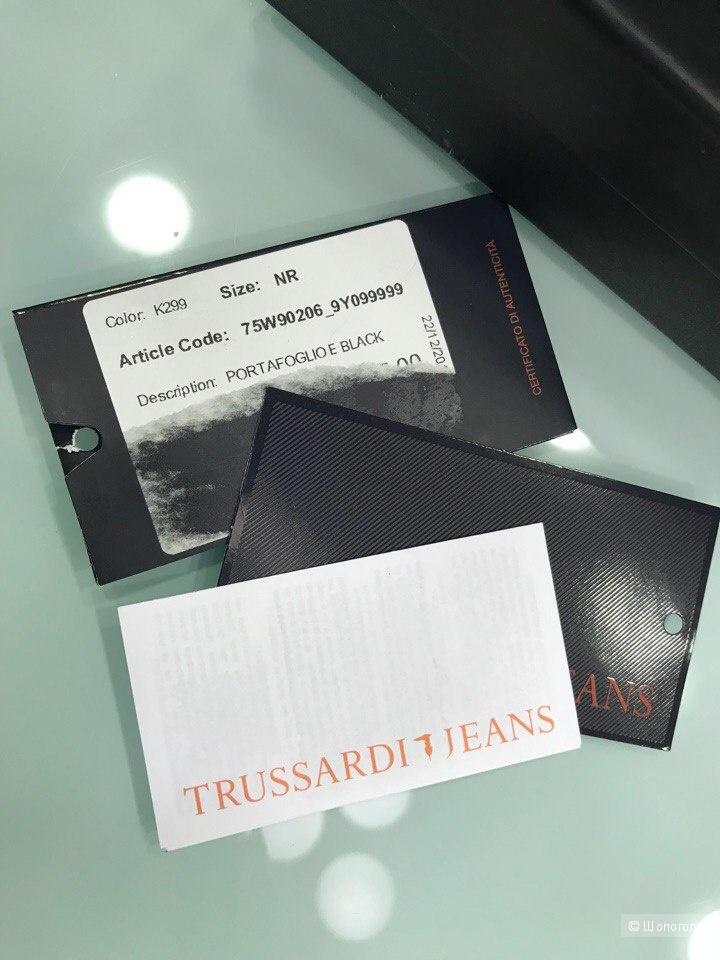 Женский кошелек Trussardi Jeans, размер 18 см х 11 см