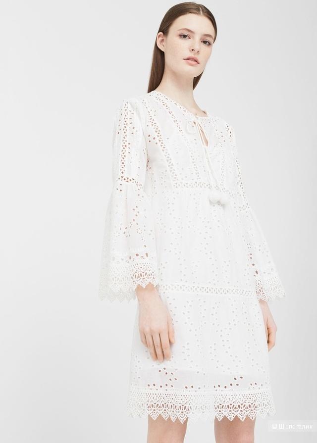 Хлопковое платье Mango, XS-S