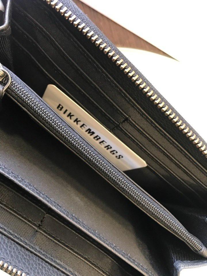 Мужской кошелек Bikkembergs, размер 19 см х 10,5 см