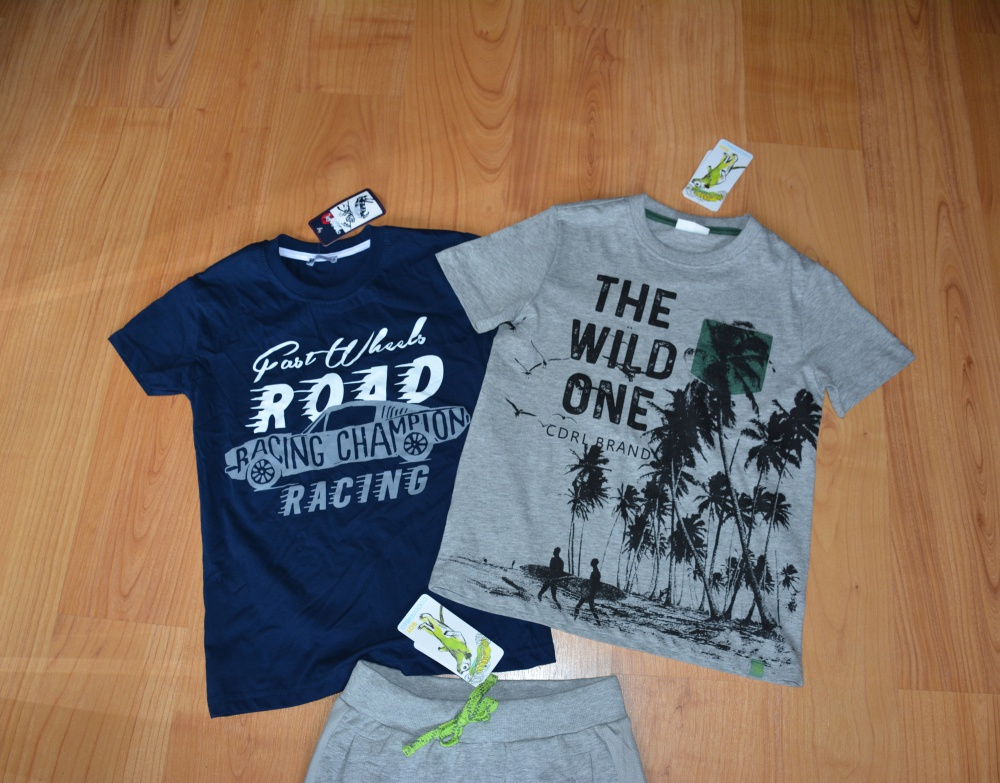 Шорты и футболки, размер 134