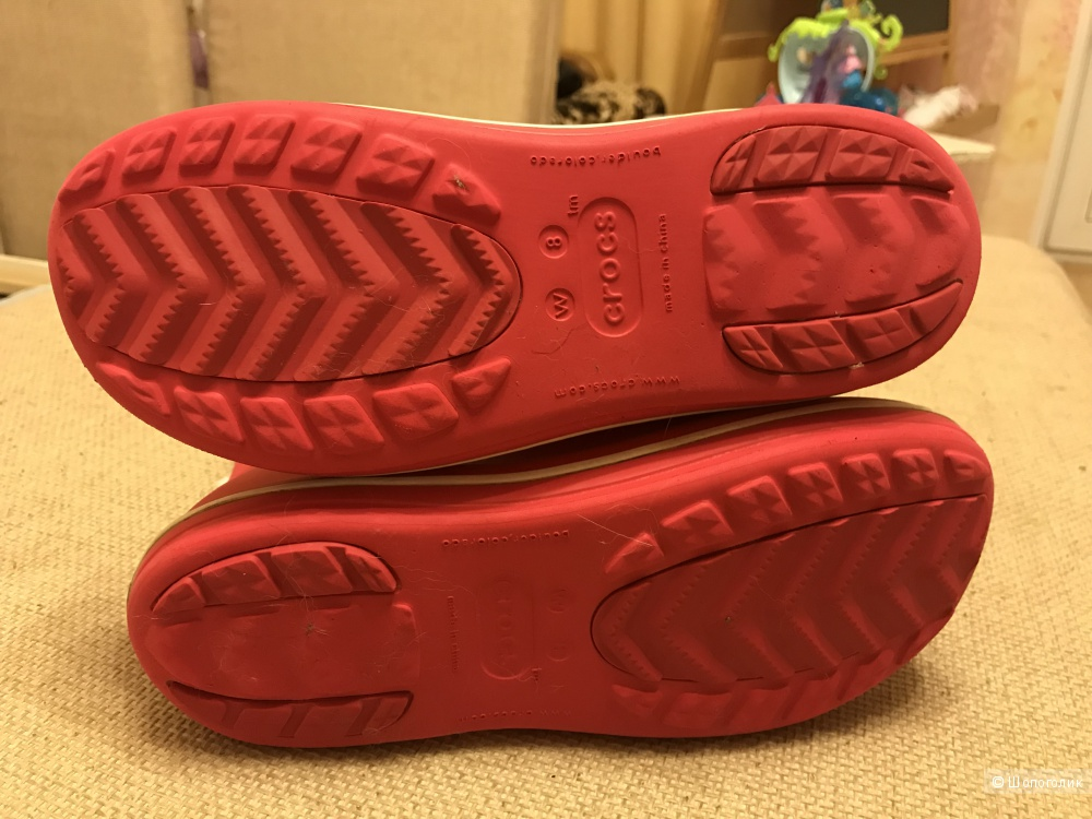 Сапоги Crocs размер w8
