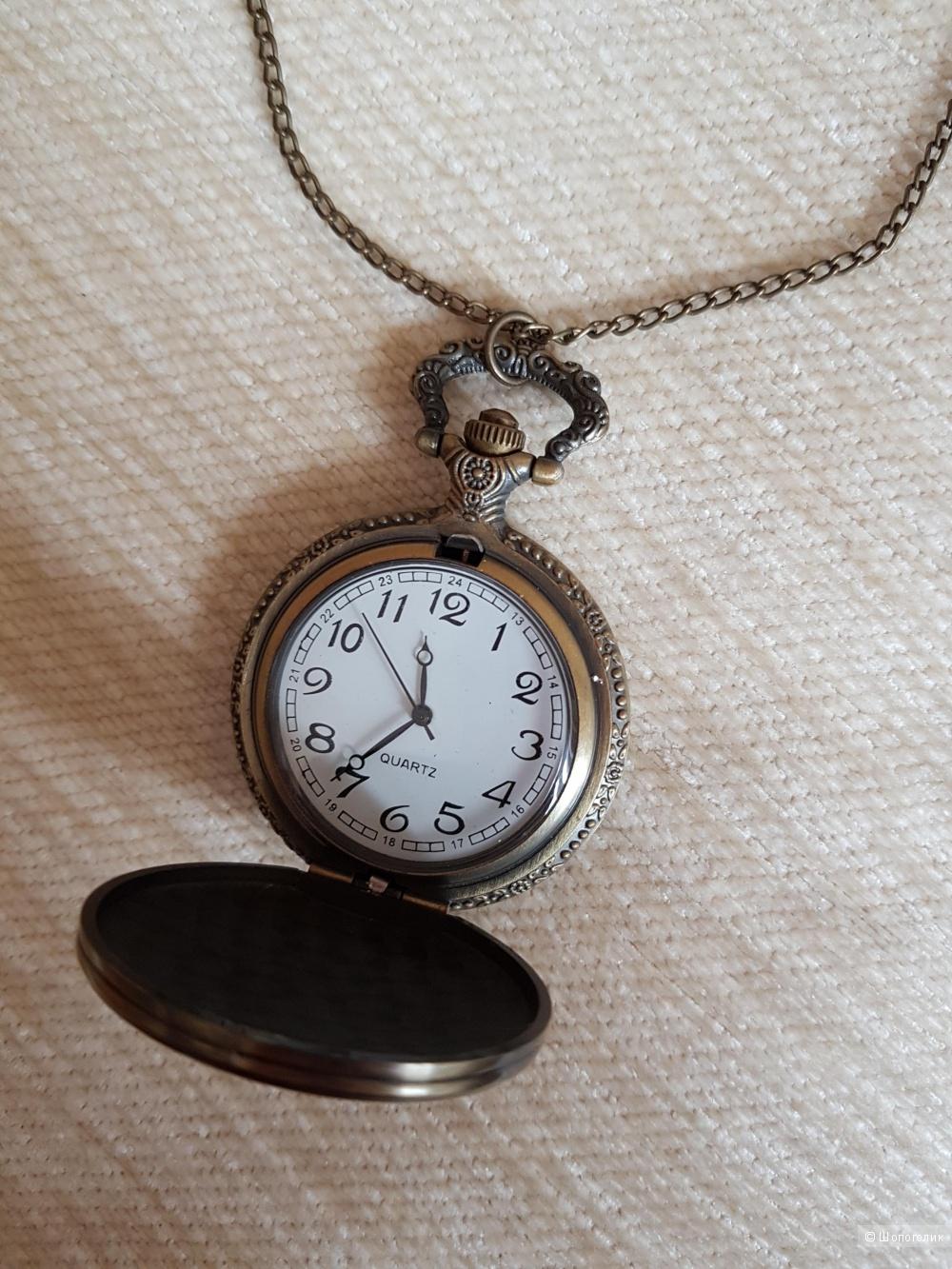 Кулон-часы