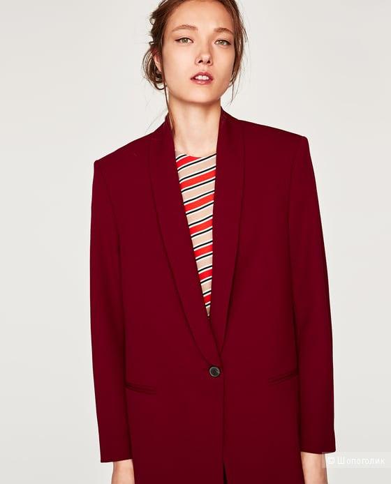 Жакет-смокинг Zara, размер L