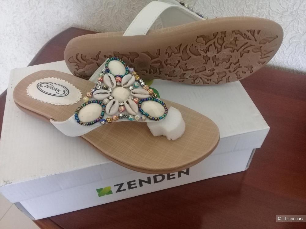 Шлепанцы  ZENDEN  размер 37