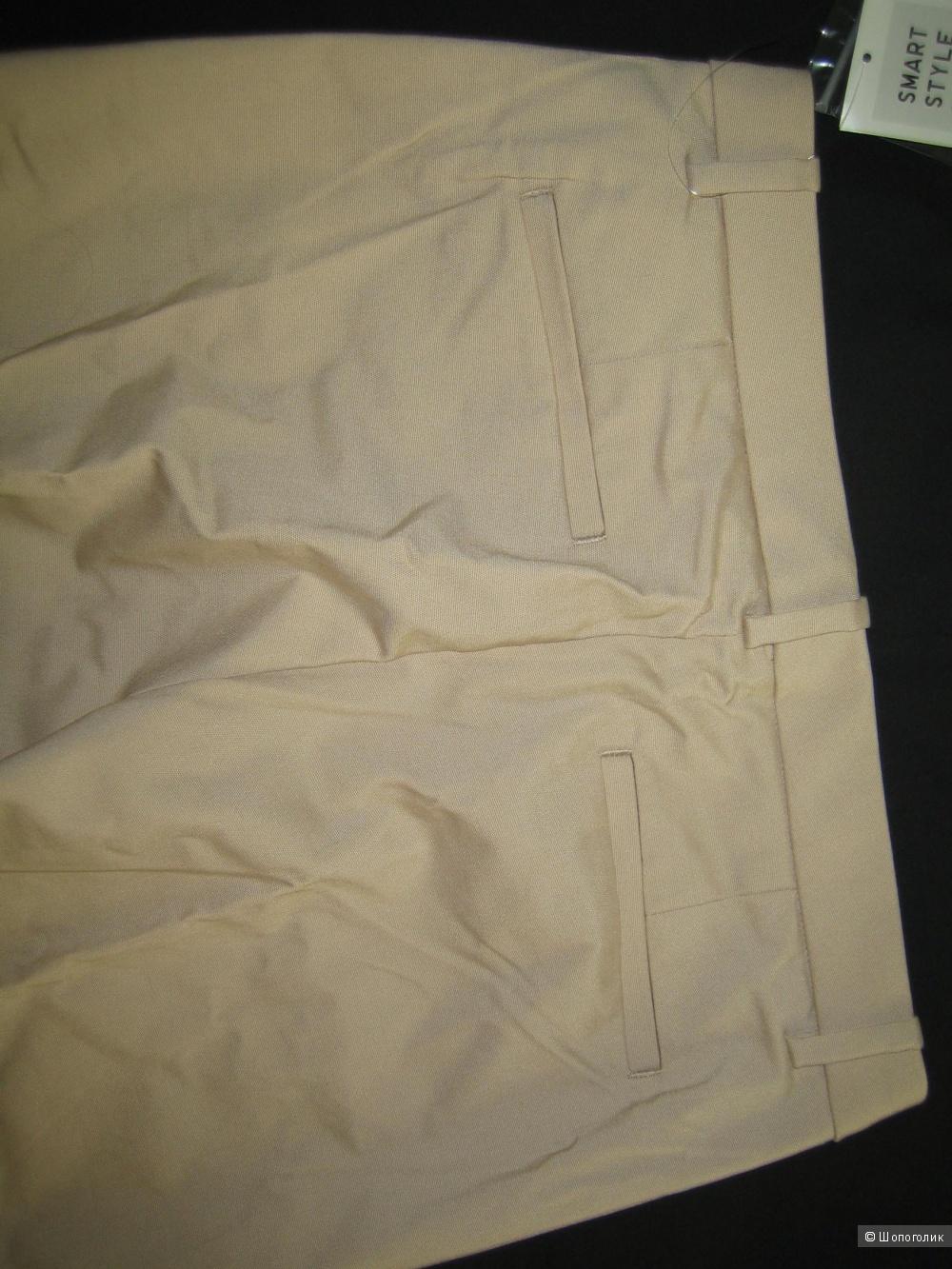 Летние укороченные брюки Uniqlo 44-46 р.