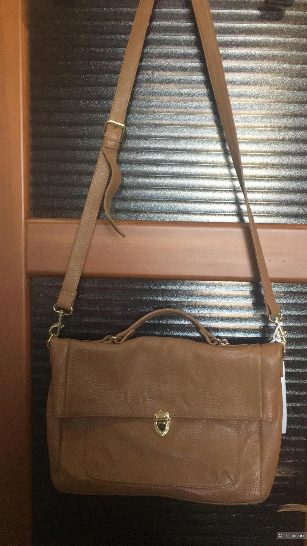 Кожаная сумка STEFANEL