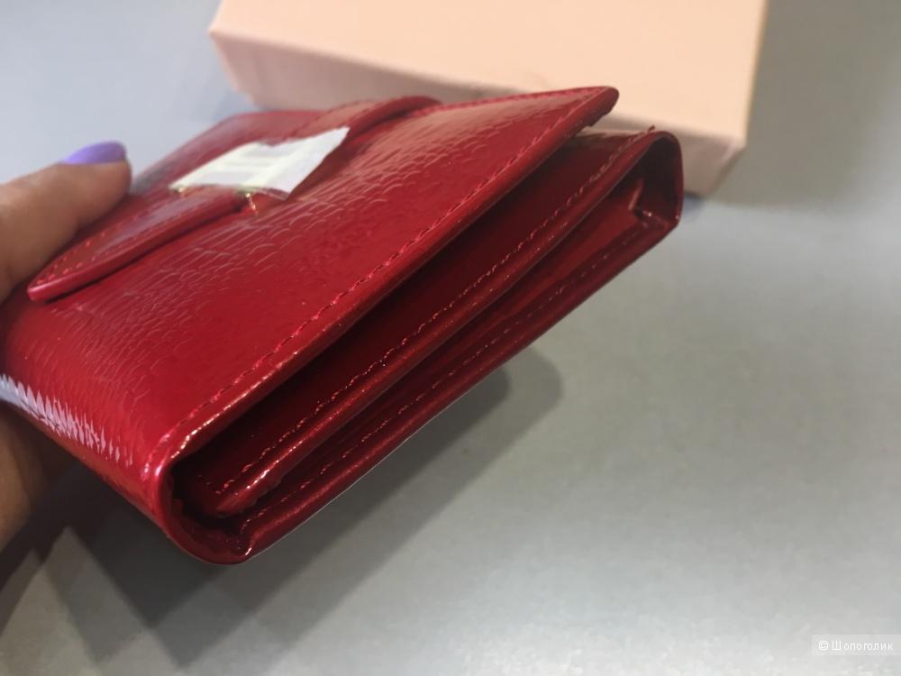 Кожаный кошелек ноунейм