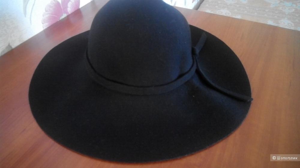Фетровая шляпа размер 57 (единый)