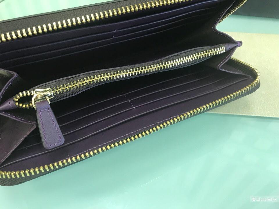 Женский кошелек Armani Collezioni, размер 19,5 см х 10 см