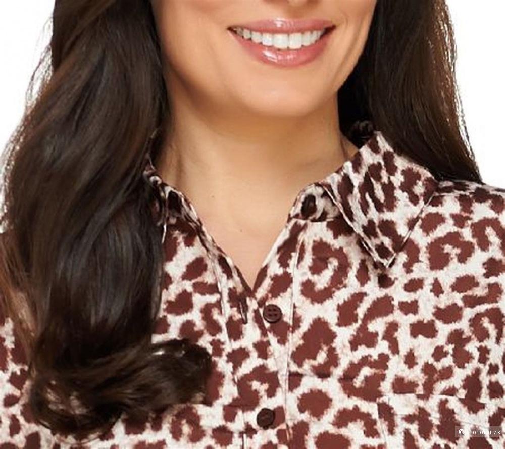 Платье-рубашка Dennis Basso, размер 48-50