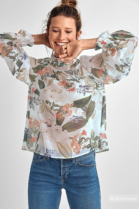 Блузка Ellos (Швеция), рос.размер 46-48.