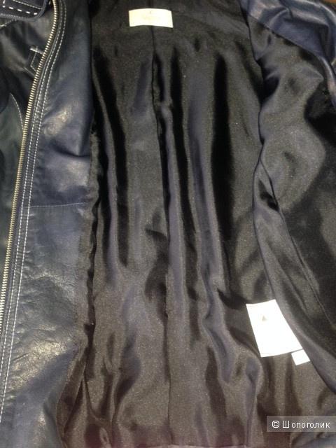 Кожаная куртака ELEGANCE PARIS,46-48