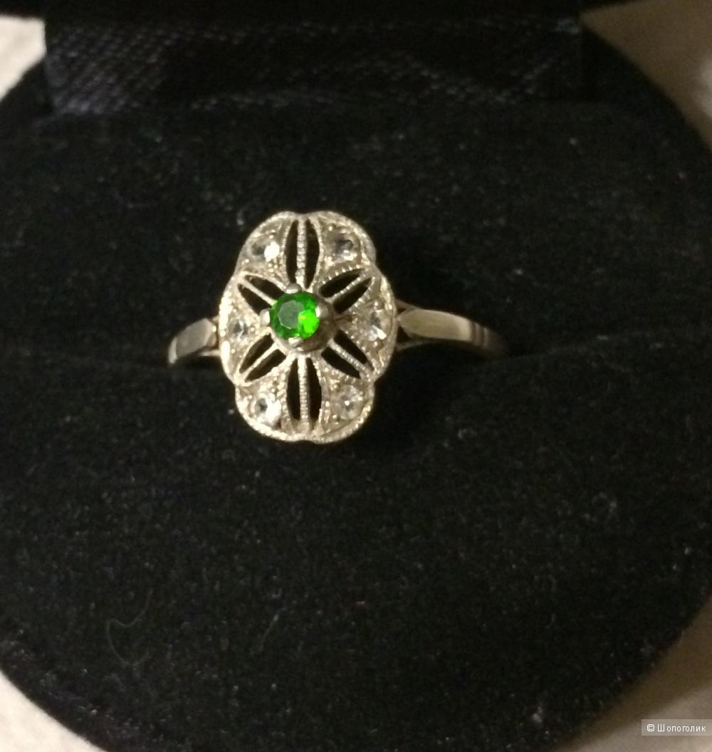 Кольцо серебро 925 размер 18