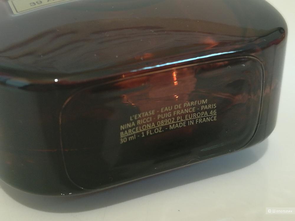 Полнообъемный флакон - L'Extase Nina Ricci 30 мл.