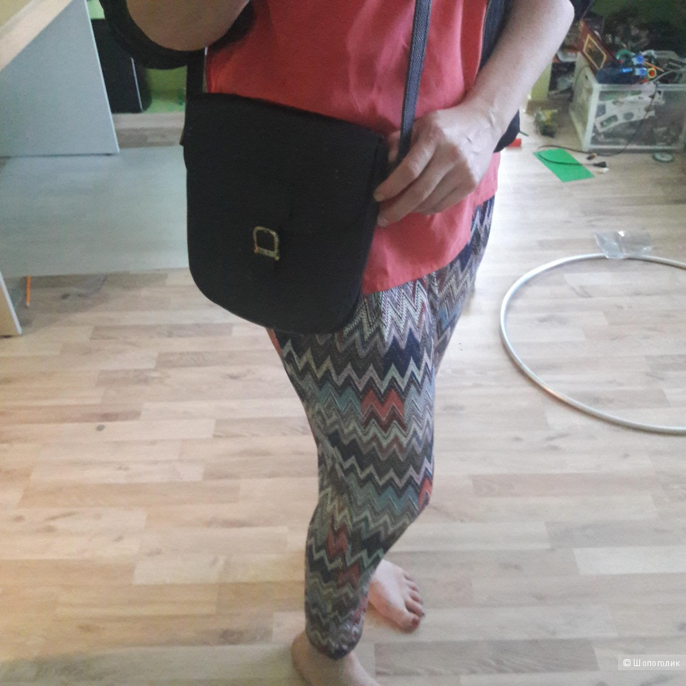 Кожаная сумка-планшет