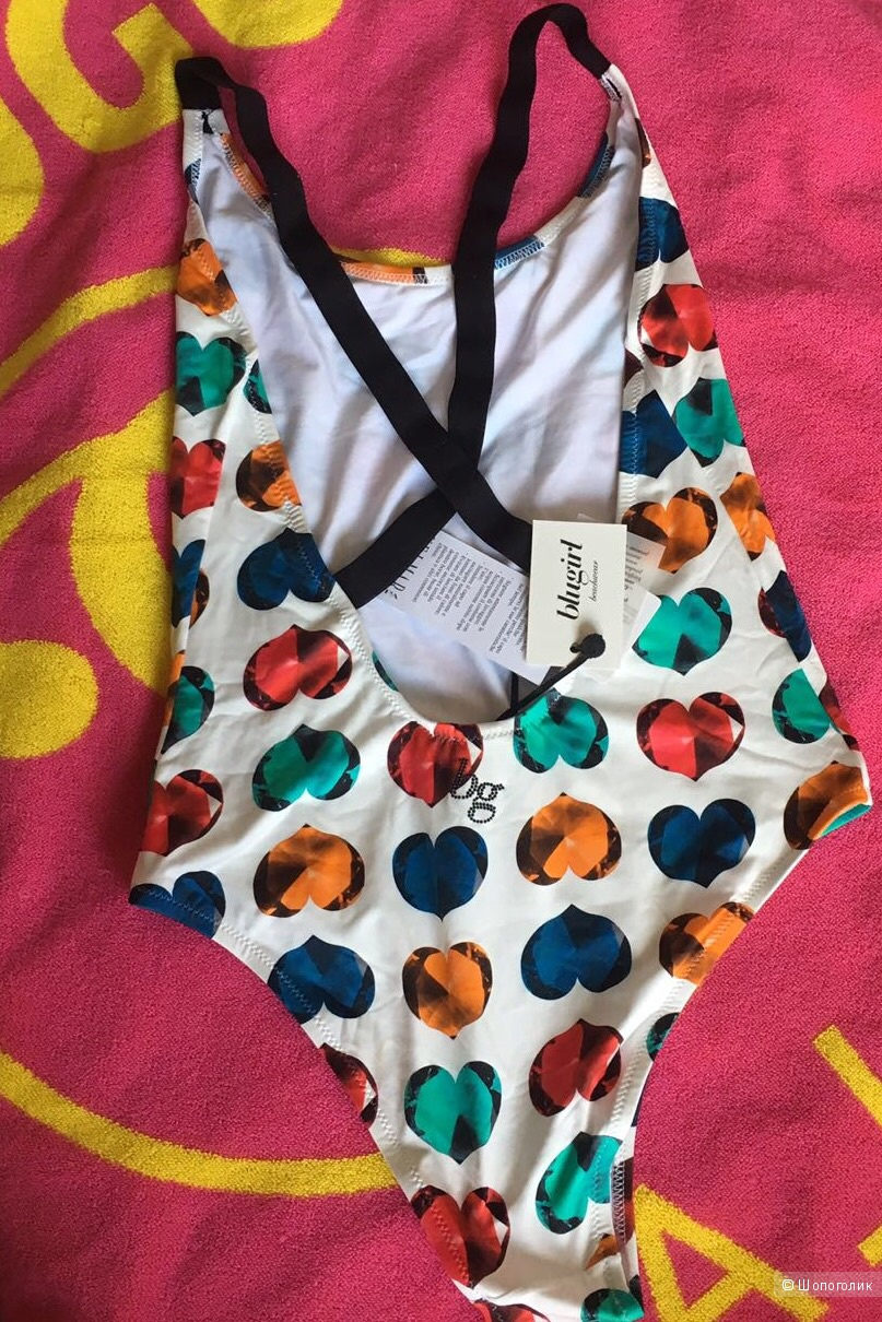Купальник Blugirl Blumarine beachwear, размер 44 it.