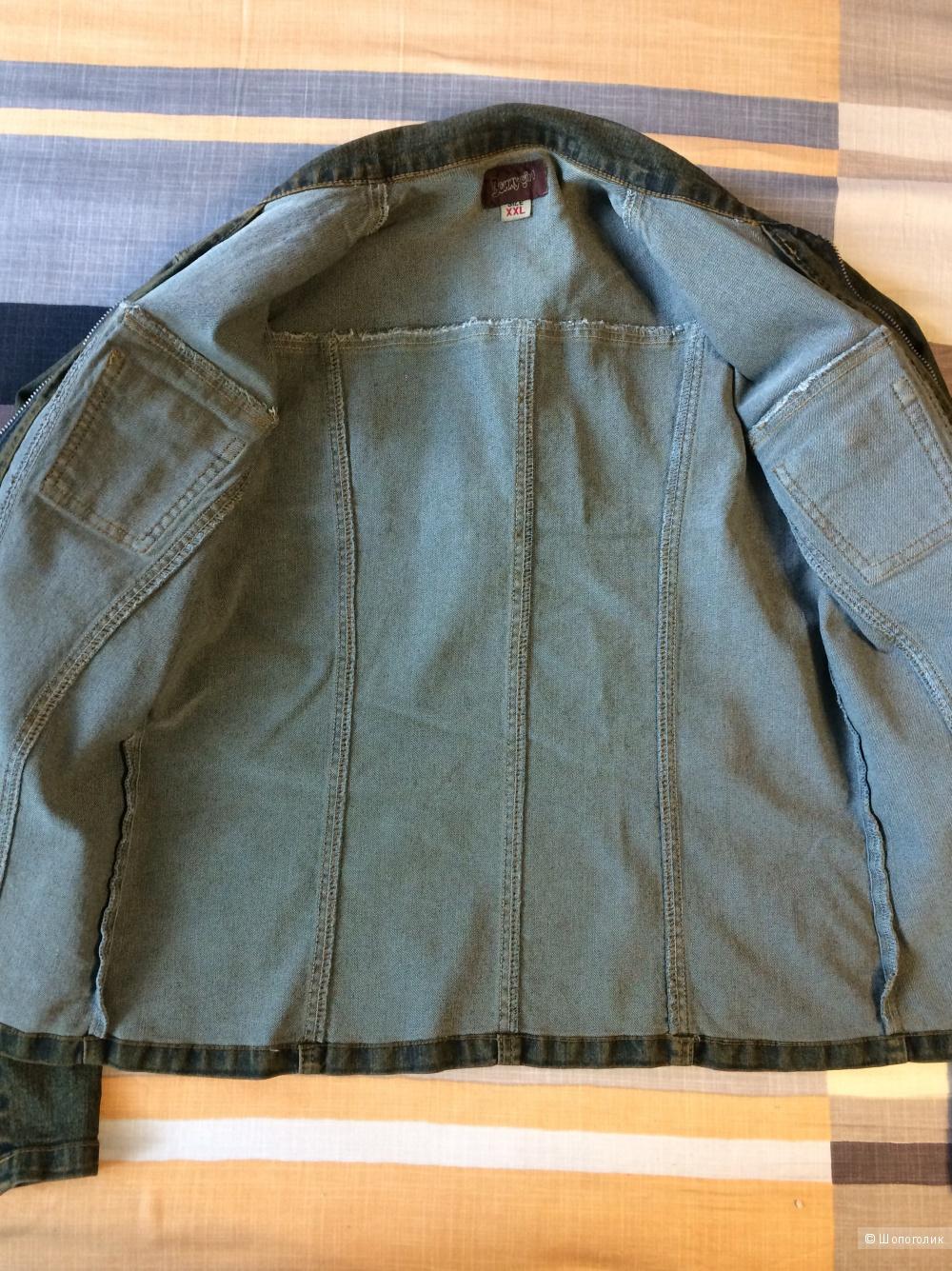 Куртка джинсовая Gaoji размер 50