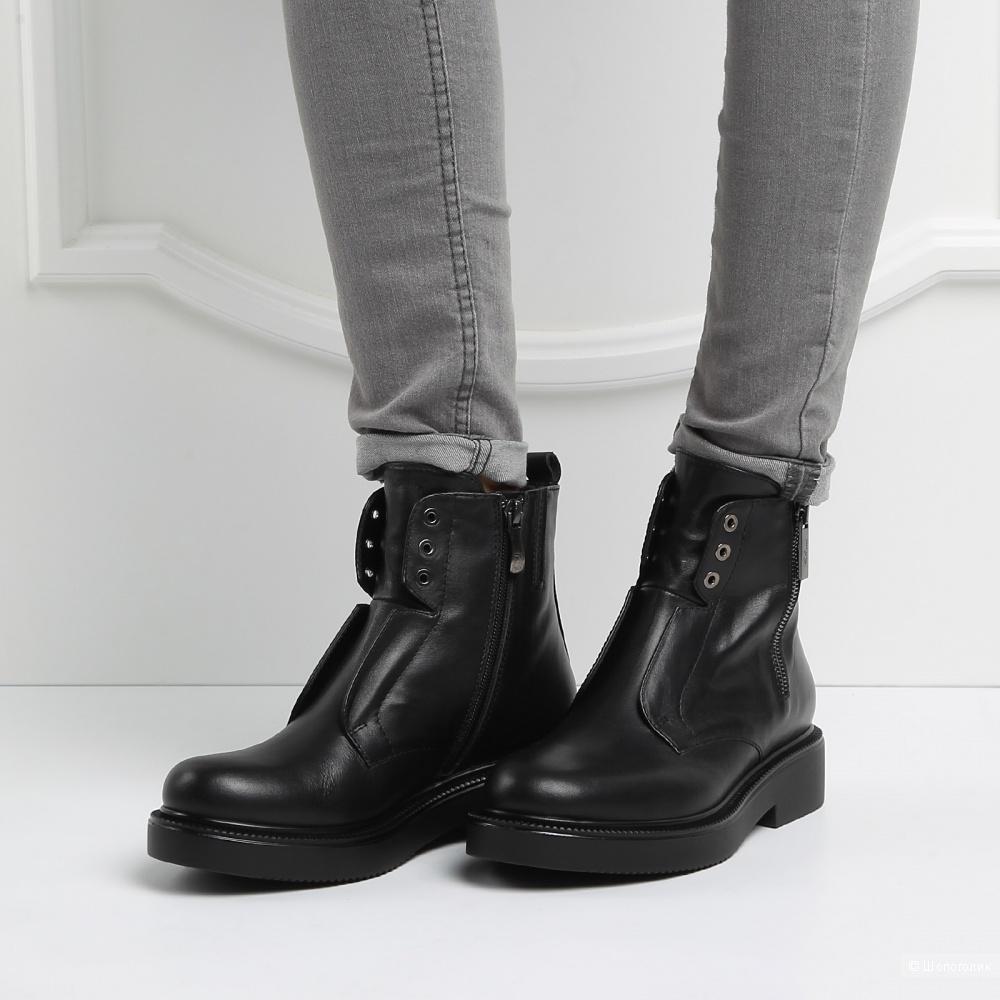 Giovanni Fabiani - ботинки/полусапоги, 40-41,5 размер.
