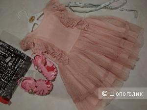 Платье Next 12-18мес