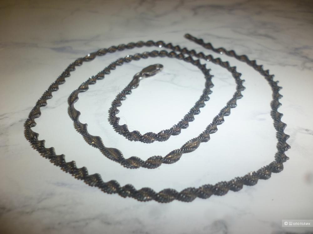 Цепочка-колье из серебра