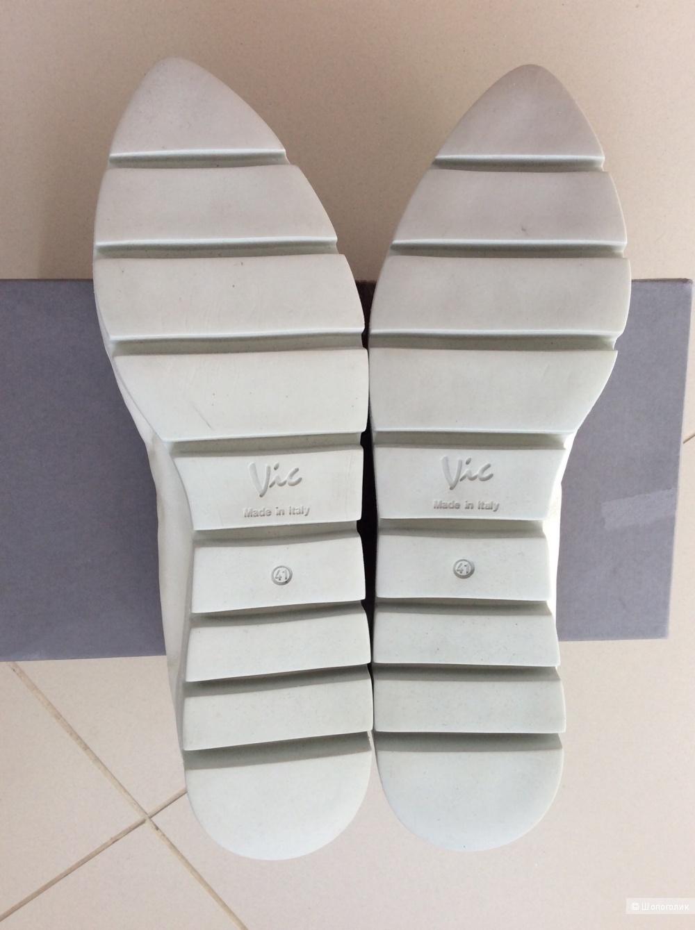 Туфли-балетки VIC р.41 (маломерки, на стопу 25 -25,5 см)