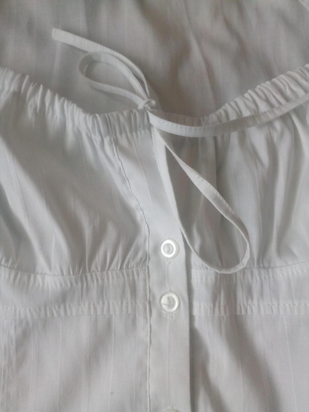 Блузка женская белая, размер 44-46