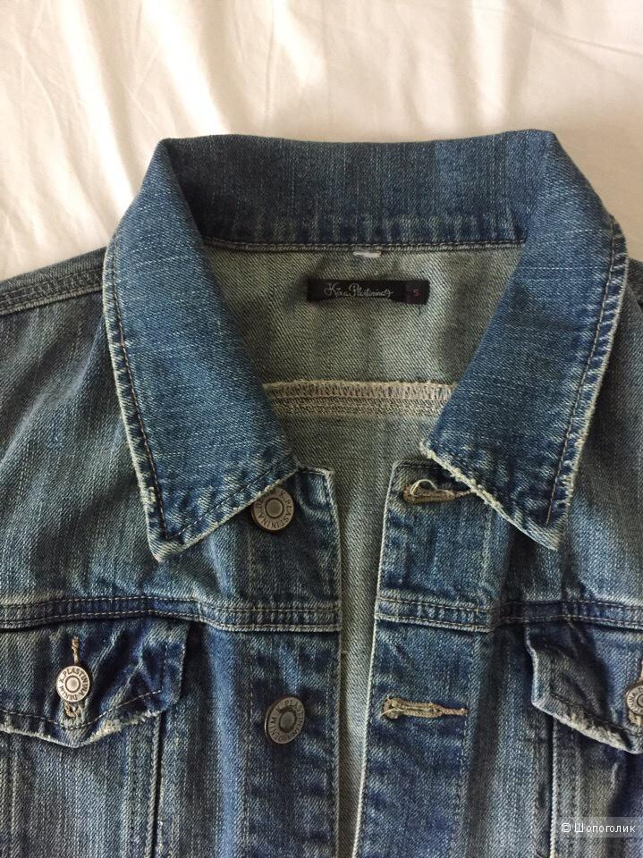 Джинсовый пиджак Kira Plastinina, размер S
