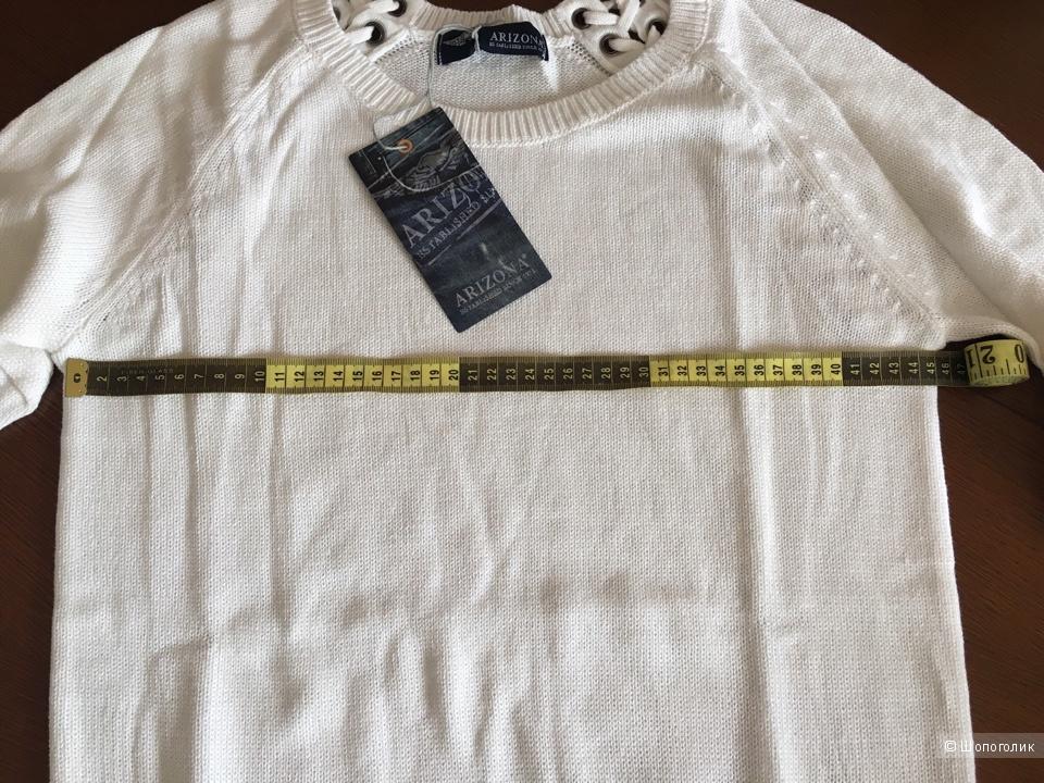 Пуловер белый Arizona 44-46 размер