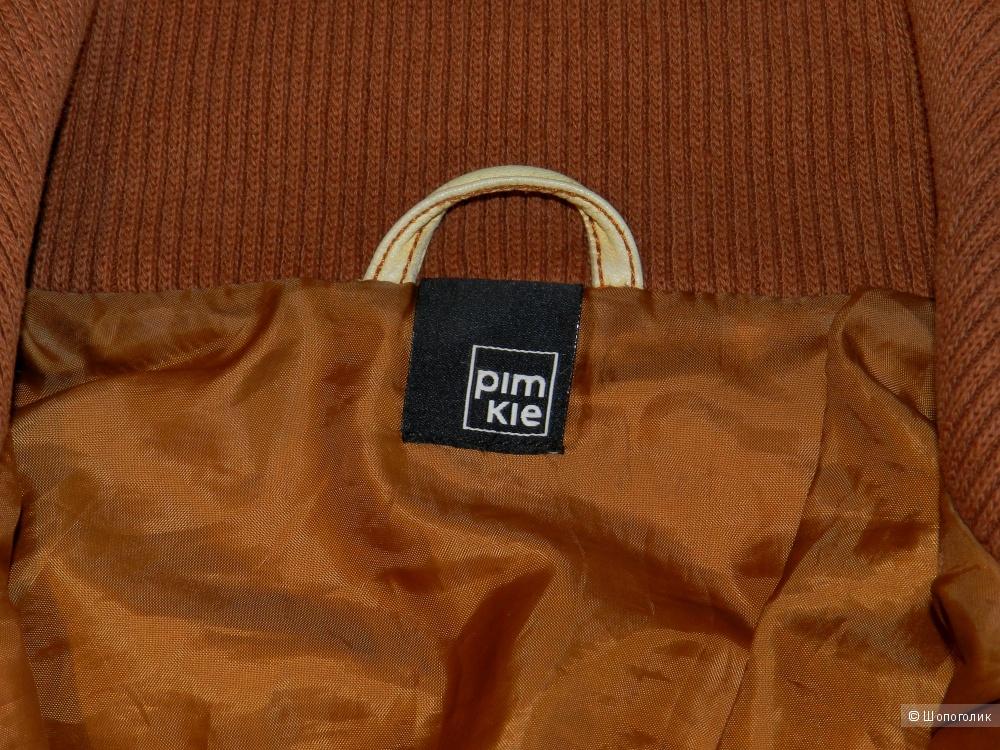 Кожаная куртка бомбер Pimkie 42-44