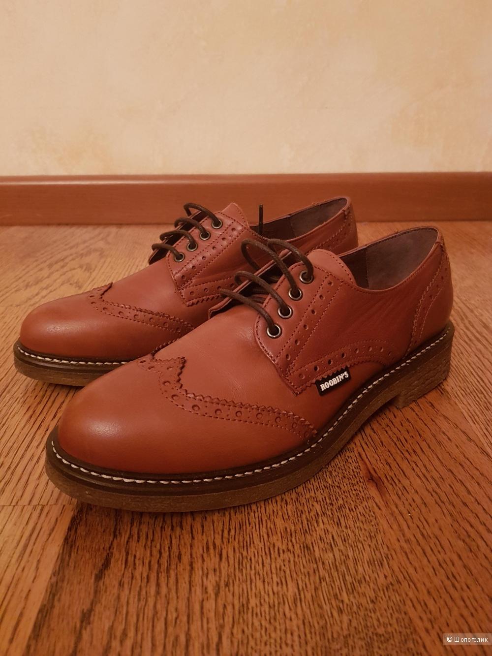 Ботинки-дерби ROOBIN*S, размер 37