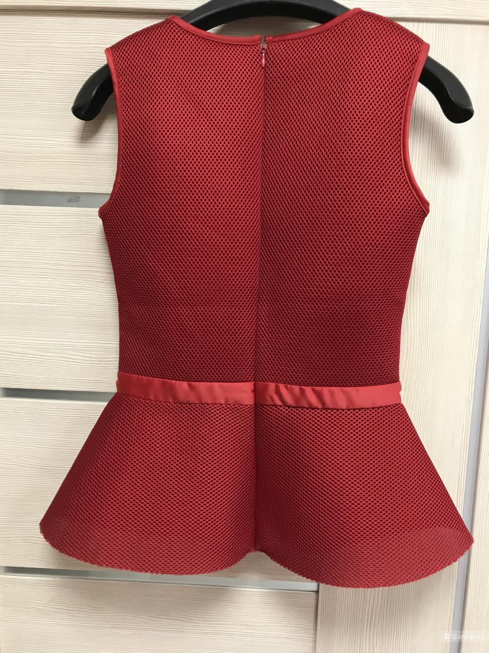 Блуза с баской Maje, размер 1, 40-42 рос
