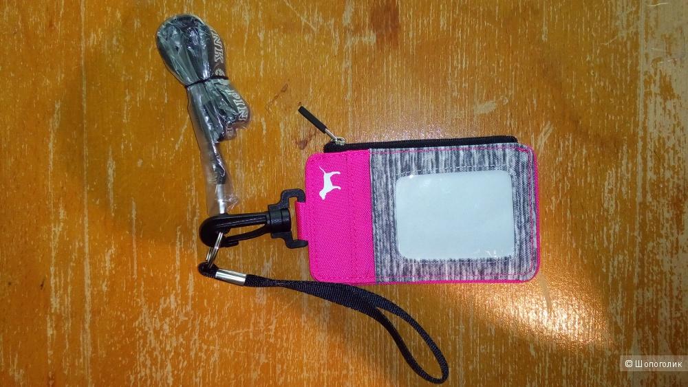 Кошелек для мелочи на шею Pink Victoria's Secret