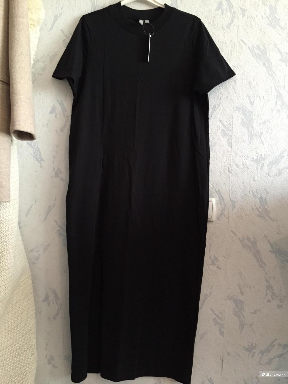 Платье-футболка макси Asos, размер 40eur 46 ru