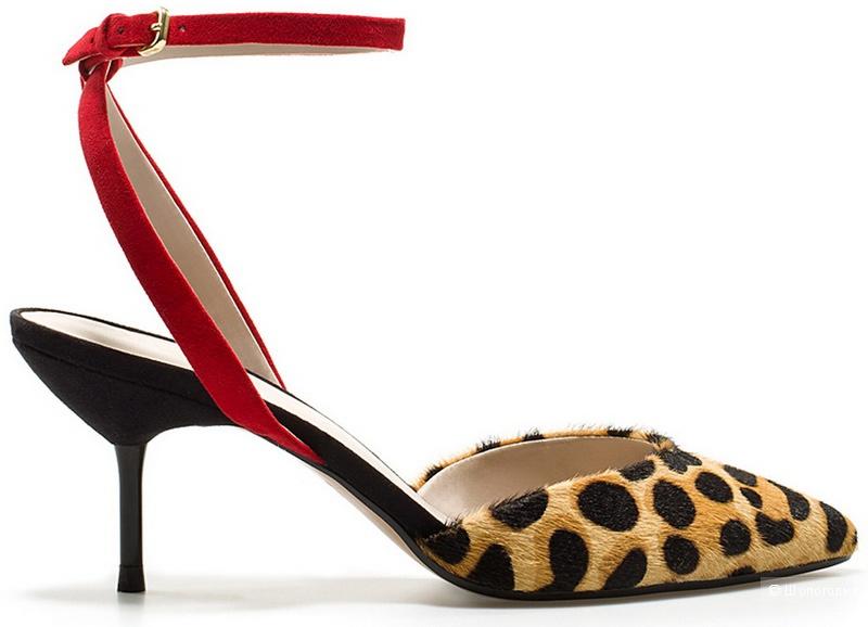 Мюли босоножки туфли ZARA WOMEN 37 размер