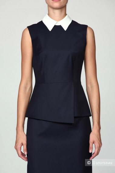 Костюм (жилет и юбка) Vassa and Co, размер 46-48