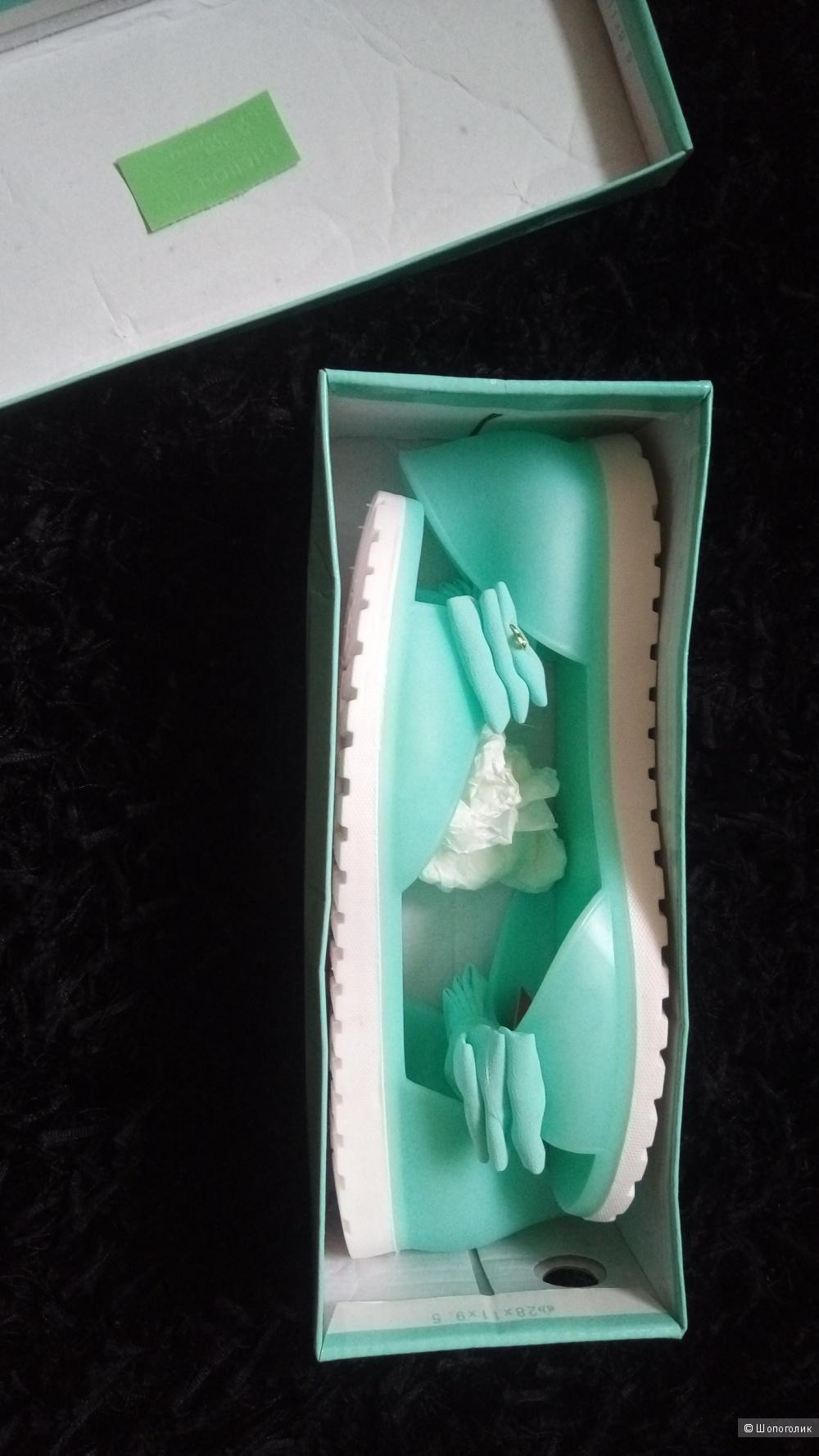 Резиновые балетки PRETY 37 размер .
