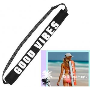 Кулер пляжный Victoria's Secret для банок/бутылок черный