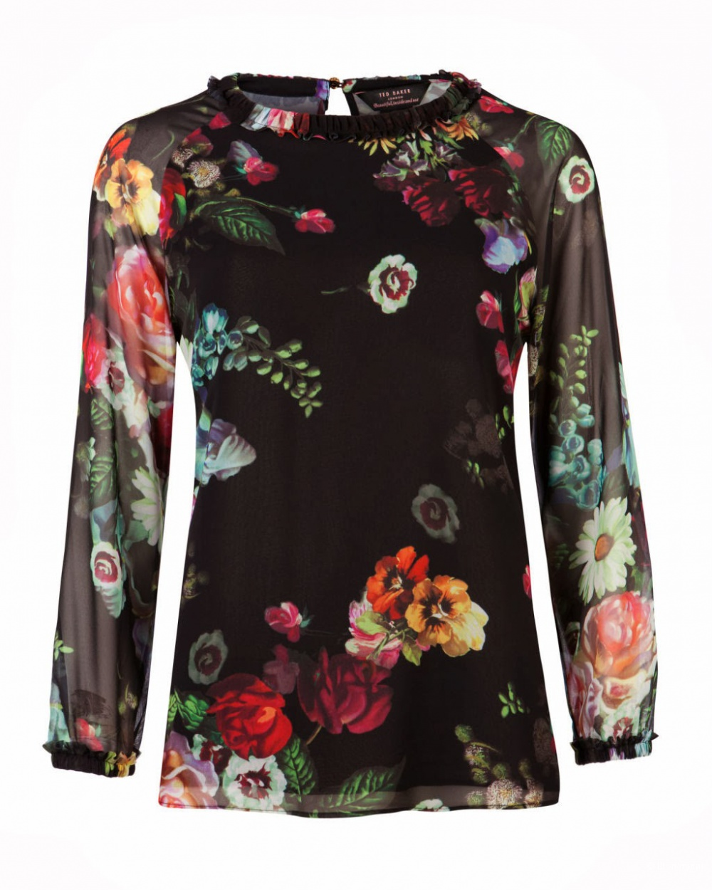 Блузка Ted Baker oil painting top размер 3 / рос.44-46
