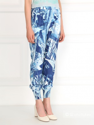 Шелковые брюки Closet, 30 размер