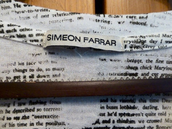 Мужская майка Simeon Farrar размер XL