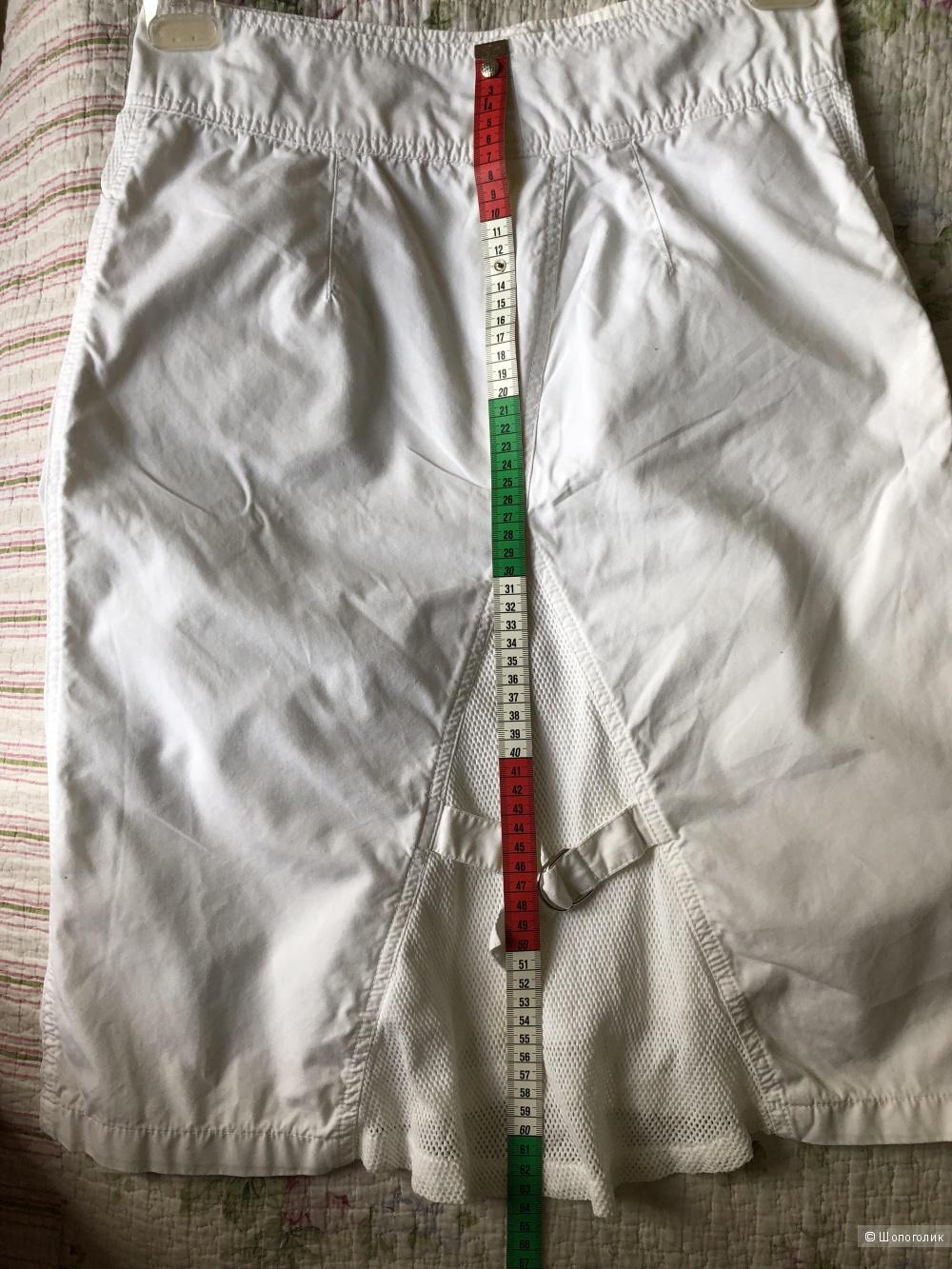 Белая юбка di lena р-р 38(EU) 44 наш