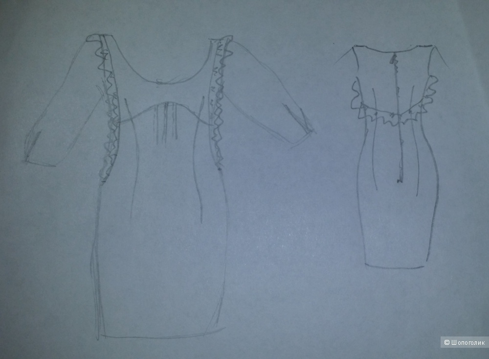 Шелковое платье MAX & CO (Max Mara), размер 42